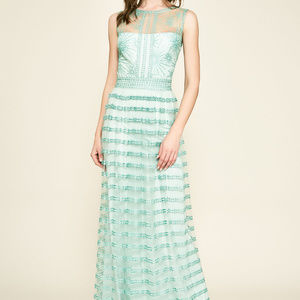 Winne Embroidered Tulle Gown